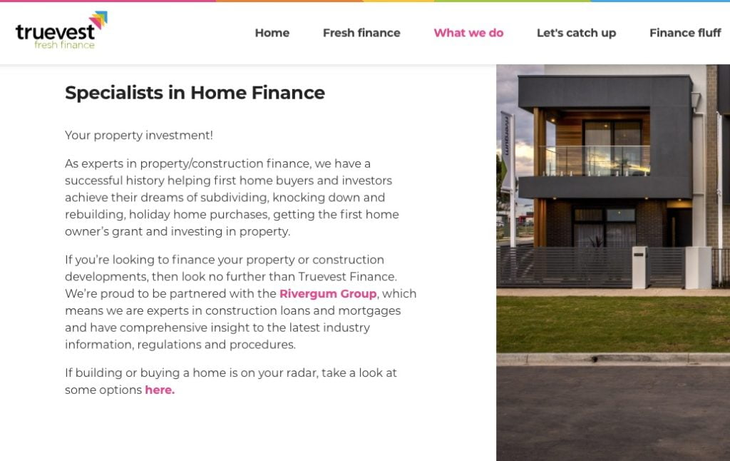 copywriting services home finance