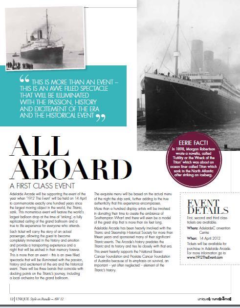 copywriting services titanic