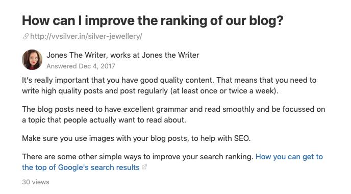 improving as a copywriter